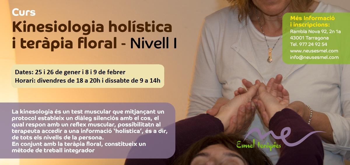 Curso de Kinesiología Holística y Terapia Floral