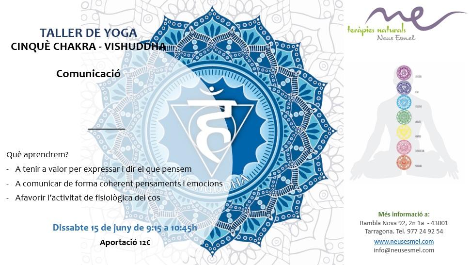 Taller de yoga del cinquè chakra