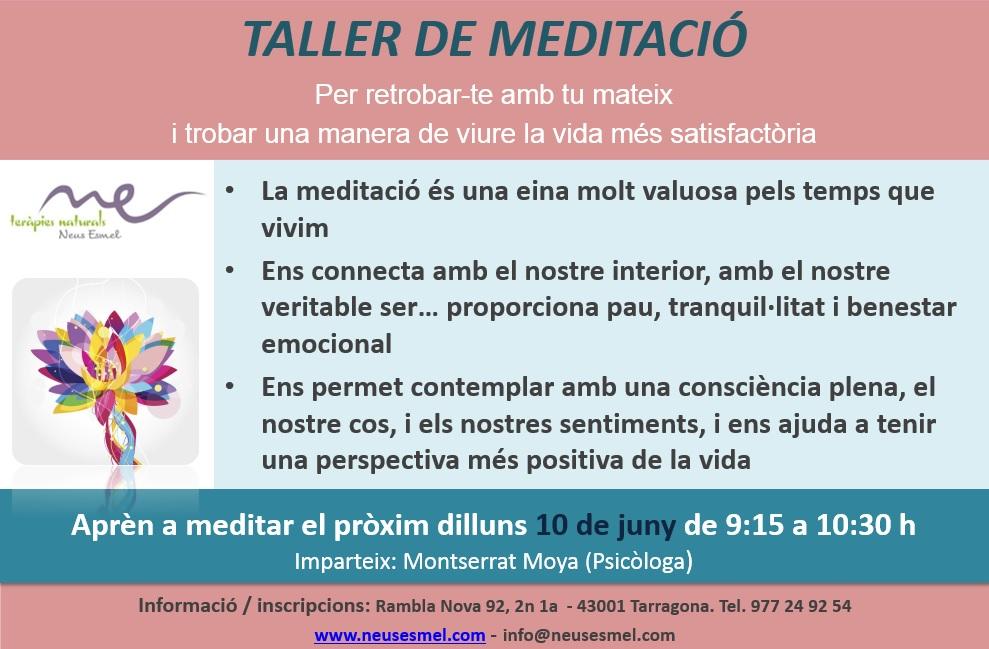 Taller de meditació