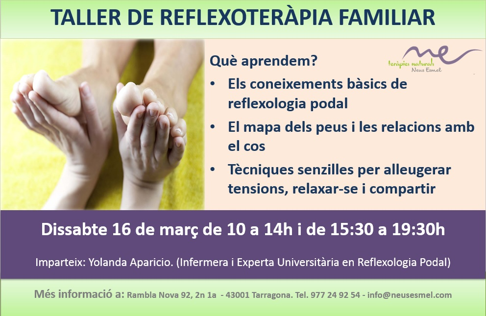 Taller de Reflexologia familiar